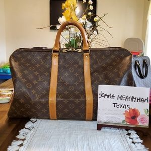 Louis Vuitton Bags - ⭐️SOLD on FB Page⭐️Keepall 50